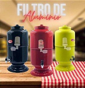 FILTRO DE ÁGUA EM ALUMÍNIO
