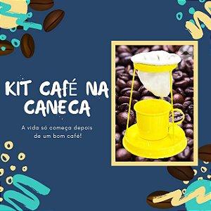 KIT CAFÉ NA CANECA RETRÔ