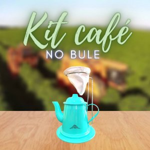 KIT CAFÉ NO BULE