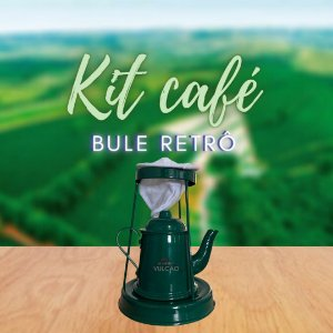 KIT CAFÉ NO BULE RETRÔ