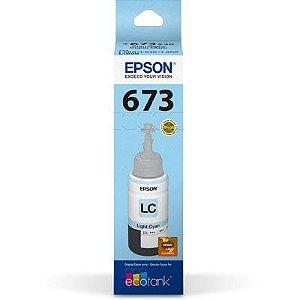 Tinta Epson 673 Ciano Claro - T673520AL