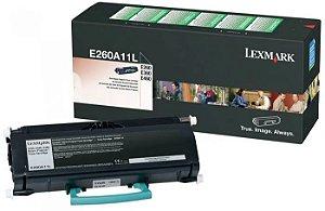 Toner original Lexmark E260A11L