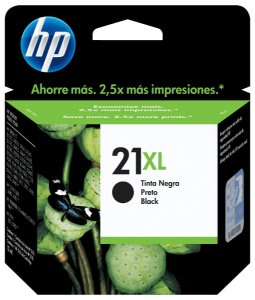 Cartucho HP 21xl Preto - C9351CB
