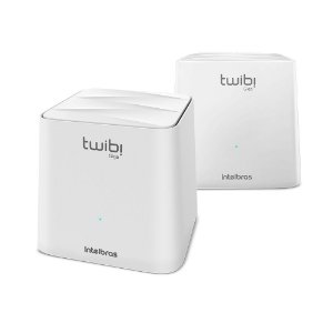Kit Roteador Twibi Giga Wi-Fi 5 Mesh - Intelbras