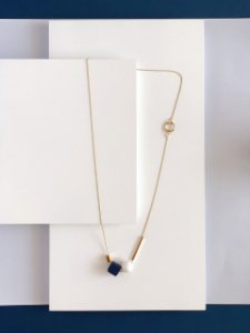 Colar Dourado Navy Berries