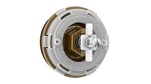 Kit Tampa Frontal para Válvulas de Descarga Lorenzetti - Modelo: P-41