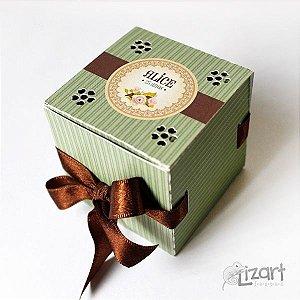 Caixa personalizada para lembrancinhas
