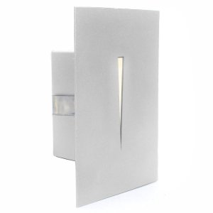 Balizador Luminária Parede Embutir Frisado Caixa 4x2 Escada Lâmpada LED G9