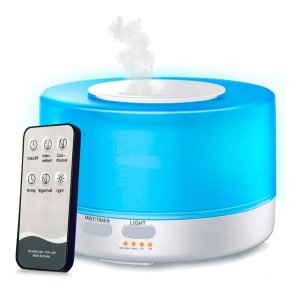 Aromatizador Difusor Aromas Elétrico Usb Led 7 Cores 500ml Bivolt Controle