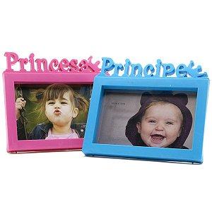 Porta Retrato 10x15 A6 Atacado Foto Moldura Infantil Princesa Principe