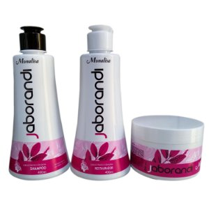 Kit Jaborandi Shampoo +  Condicionador + Mascara