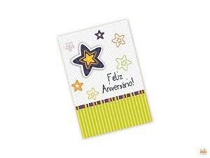 Cartão Pequeno Feliz Aniversário