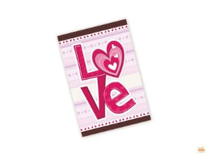 Cartão Pequeno Love