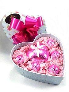 Caixa coração mini Chocolate 13 Tílias