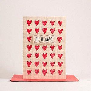 Cartão Pequeno Eu Te Amo