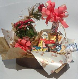 Cesta de Chocolates Ao Seu Lado