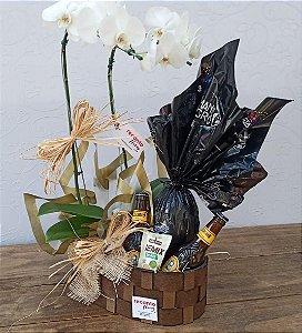 Orquídea com Ovo de Páscoa