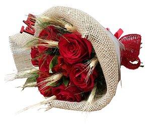 Topiaria de 7 rosas
