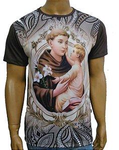 Santo Antonio mandala marrom