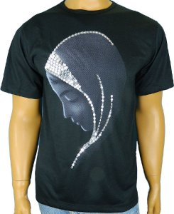 Camiseta-Virgem-Silencio-bordada