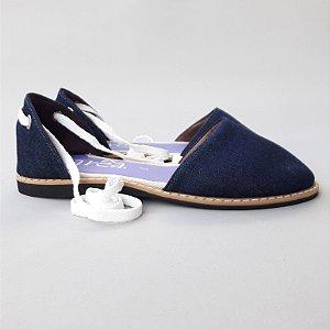 Sandália Parêa | Catraia fechada - Jeans