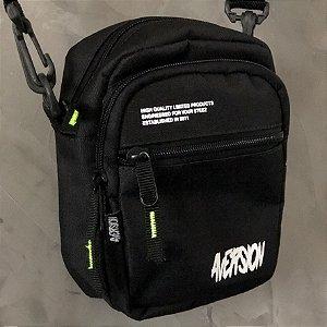 FRETE GRÁTIS | Shoulder Bag Aversion Preta