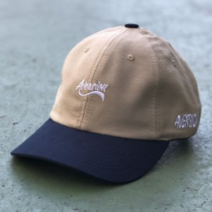 Boné Aversion Dad Hat Aba Curva Bege/Azul - Model Baseball