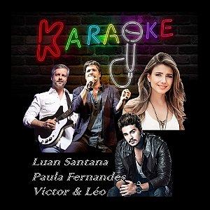 Especial Videoke Karaoke Luan Santana - Paula Fernandes - Victor e Leo