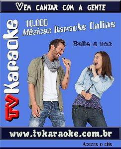 TV Karaoke 10.000 músicas karaoke online - Plano Anual
