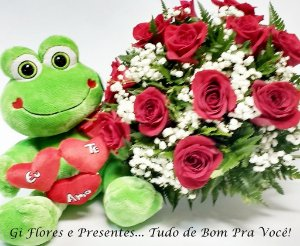 Bouquet Sapo Apaixonado