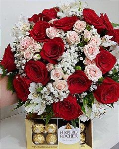 Bouquet  Primavera Com Ferrero Rocher
