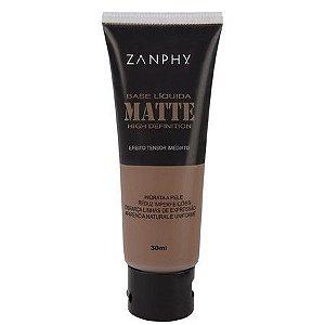 Base Líquida Matte Zanphy - 06 Marrom Escuro