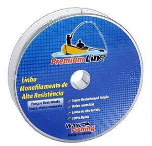 Linha Monofilamento Premium Line 0,25 300m