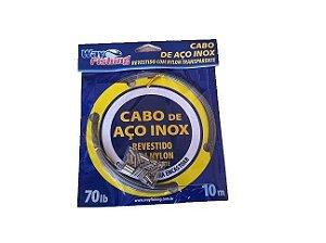 Cabo de Aço Inox 70 Lbs