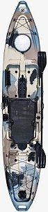Caiaque Hook com Pedal Power Drive System - Milha Náutica
