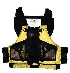 Colete de Flutuação Amazon Amarelo - Hidro 2
