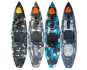 Caiaque Mako 110 PRO com Pedal - Hidro2 (Modelo 2021)