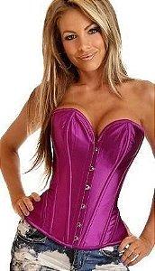 corset lilas