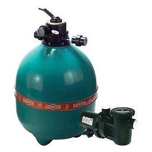 Filtro DFR-30 p/ Piscina c/ Bomba 1.1/2CV127/220 V. Monofásico