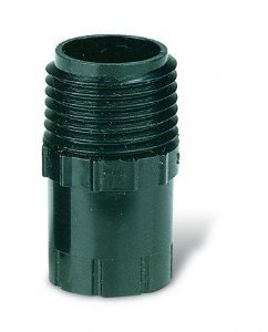 """Adaptador Plástico Para Aspersores e Borbulhadores 1/2"""" Macho PA-80 - Rain Bird"""