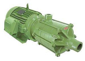 Bomba Multiestágio Schneider ME2-AL 2240 4 CV trifásica 4 voltagens
