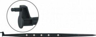 Ponta quadrada 4.3mm x 600mm Haste/estaca