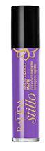 Batom líquido Matte Rahda Stillo violeta atitude com 4 ml