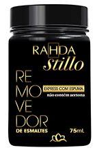 Removedor de esmalte Rahda Stillo com 75 ml - Remove esmalte até 200 unhas