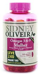 Ômega 3-6-9 MULHER 1000 mg 240 CAPS