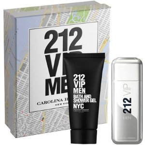 PERFUME 212 VIP MEN KIT 100ML+SH.GEL &212 VIP ROSE FEMININO 50 E 80 ML