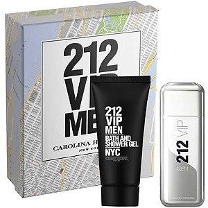 PERFUME 212 VIP MEN KIT 100ML+SH.GEL &212 VIP ROSE FEMININO 50 E 80 ML