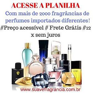 Perfumes Importados: Acesse a Planilha com mais de 2000 fragrâncias!