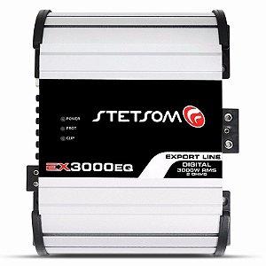 Módulo Stetsom Ex 3000 Eq Amplificador 3000w Rms