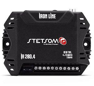 Modulo Amplificador Stetsom IR 280.4 Iron Line 4 Canais